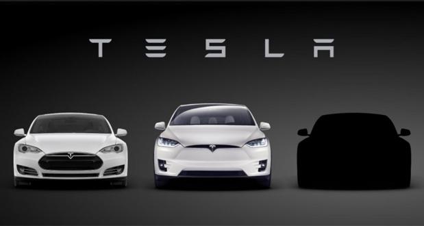 تسلا تصویری از سدان اقتصادی خود با نام Model 3 را رونمایی کرد