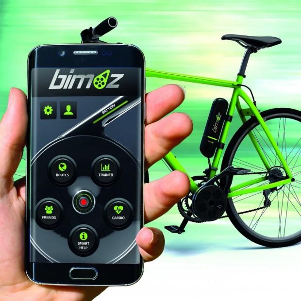 موتور الکتریکی bimoz دوچرخهسواران را در مسیرهای دشوار یاری میکند
