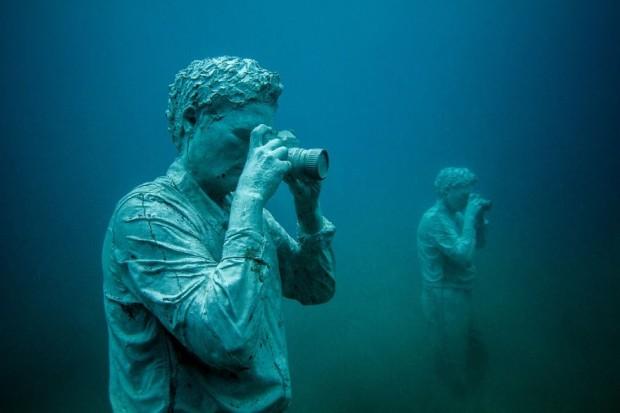 موزهی زیرآبی کف دریا