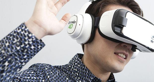 Entrim 4D، هدست واقعیت مجازی سامسونگ که بعد جدیدی را به تجربهی کاربران اضافه میکند
