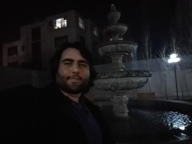 نمونه عکس سلفی ( شب )