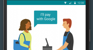 سرویس پرداخت بدون نیاز به لمس تلفن همراه