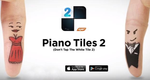 معرفی و بررسی بازی Piano Tiles 2