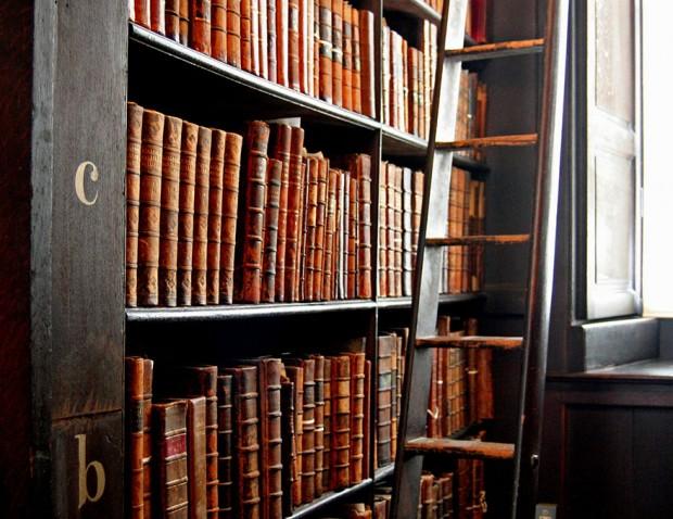 تماشا کنید: کتابخانهی دوبلین با قدمت ۳۰۰ سال و بیش از ۲۰۰ هزار جلد کتاب