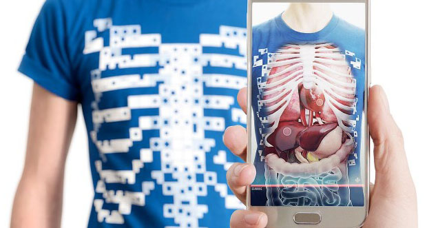 استارت آپ Virtuali-Tee اجازه میدهد اندام های درون بدن را ببینید