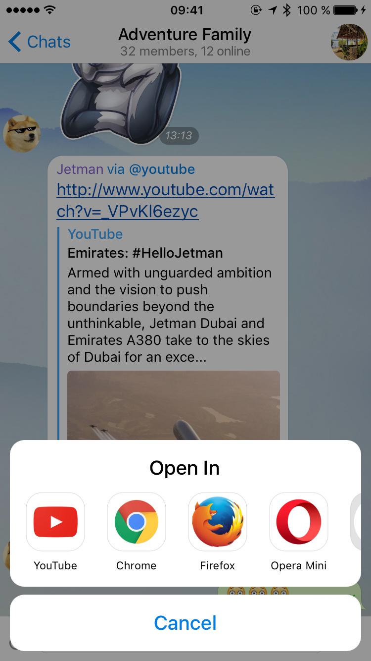 دانلود تلگرام 3 8