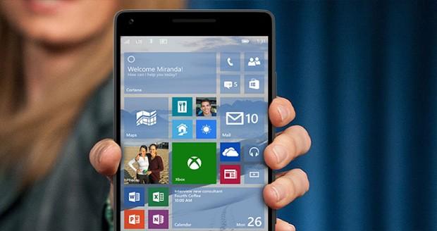پیشنمایش ویندوز 10 موبایل