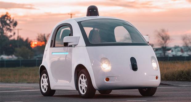 خودروی بدون رانندهی گوگل