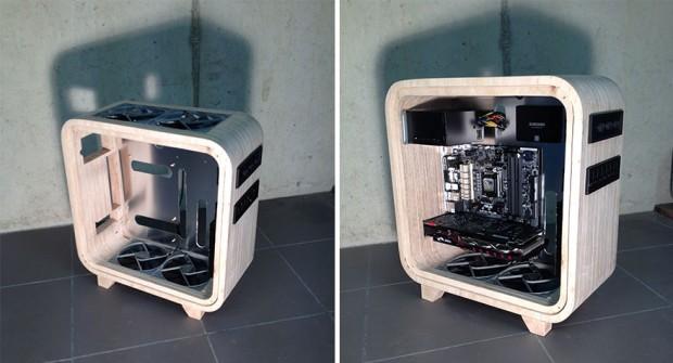 کیس کامپیوتر چوبی