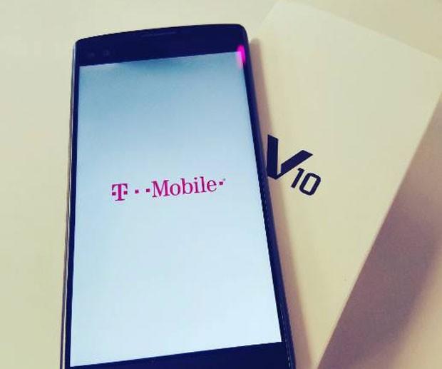 الجی V10 تی-موبایل