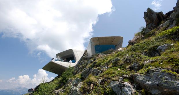 موزه کوهستانی زاها حدید