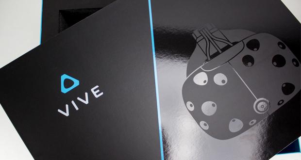 بازگشایی جعبه HTC Vive