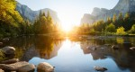 شکار خورشید؛ تصاویر غروب آفتاب در مناظر زیبای جهان