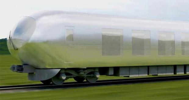 اولین قطار نامرئی ژاپن تا سال ۲۰۱۸ ساخته خواهد شد