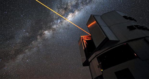 استفاده از پرتوهای لیزر برای استتار کرهی زمین در برابر موجودات فضایی