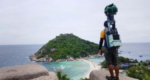 ورزشکاری که ۵۰۰ هزار کیلومتر از تایلند را برای سرویس استریت ویو پیموده است