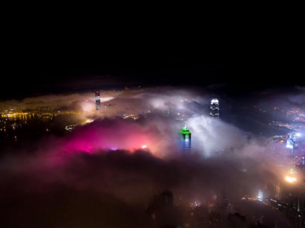 عکسهای شگفتانگیز هوایی از هنگکنگ