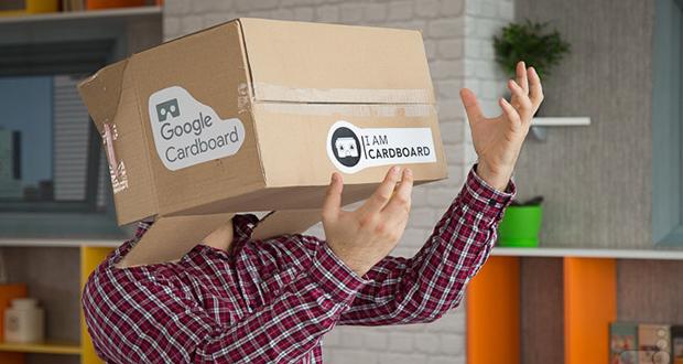 جعبه واقعیت مجازی گوگل برای تبلت ها
