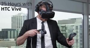 25 ساعت استفاده از هدست واقعیت مجازی
