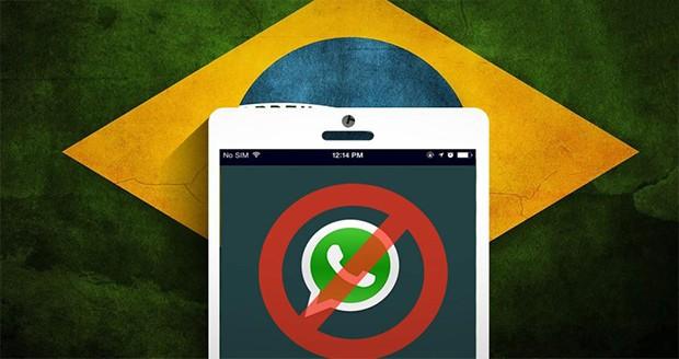 مسدودسازی اپلیکیشن واتس اپ در برزیل