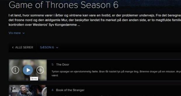 فصل 6 سریال Game Of Thrones