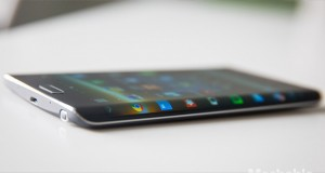 صفحه نمایش منحنی گوشی هوشمند