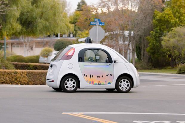 اتومبیل خودران گوگل