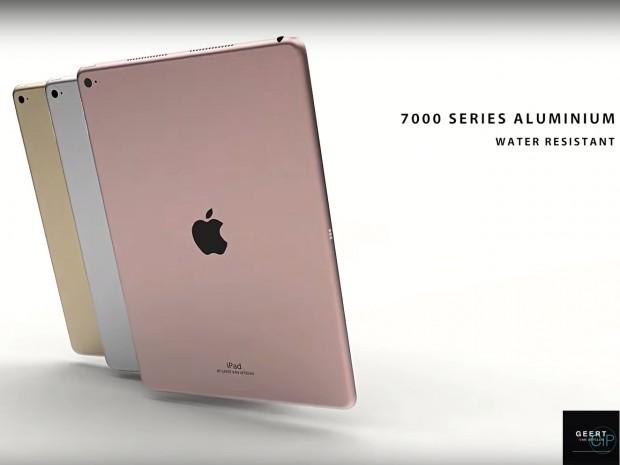 کانسپتهایی که آیپد ایر ۳ را با زبان طراحی اپل به تصویر میکشند