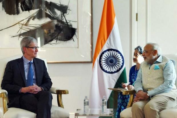 دیدار تیم کوک با نسخت وزیر هند برای بحث بر سر آیندهی اپل در این کشور