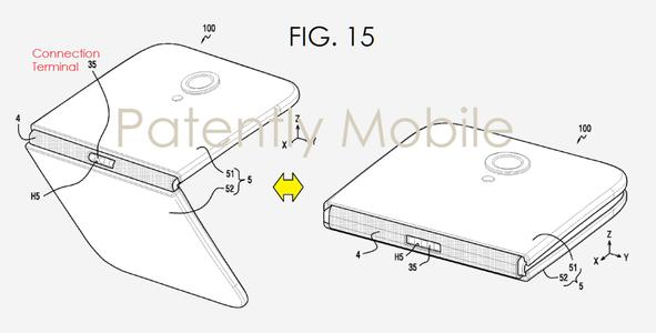پتنت جدید سامسونگ برای تولید یک تلفن همراه هوشمند تاشو