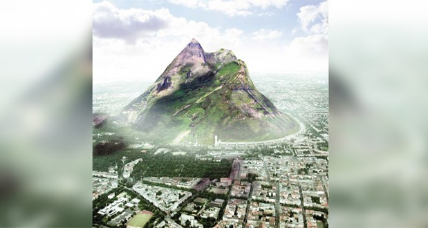 امارات درحال برنامه ریزی برای ساخت یک کوه مصنوعی است!