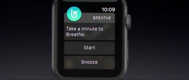 با اپلیکیشن Breathe اپل واچ شما به یک مربی آموزشی برای تنفس تبدیل میشود!