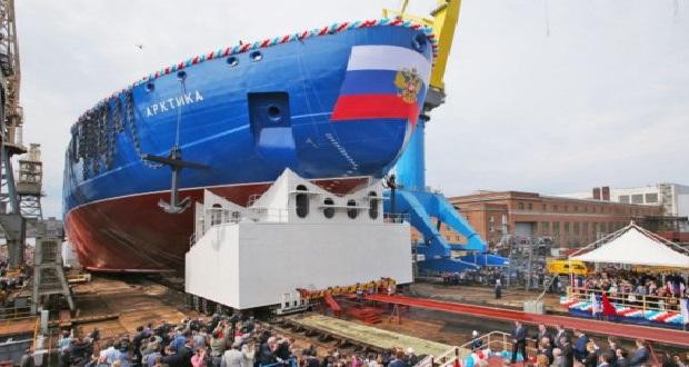 بزرگترین کشتی یخشکن