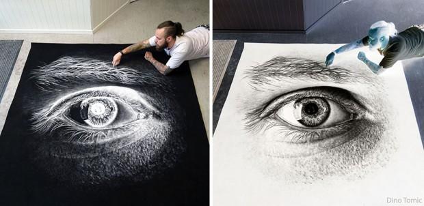 تصاویری از هنر نقاشی با نمک که موجی از حیرت را در میان کاربران ایجاد کرده است