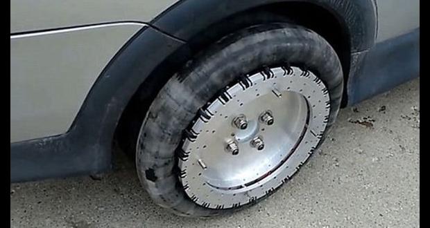 چرخهای جادویی که به خودرو اجازه میدهند در هر جهتی حرکت کند