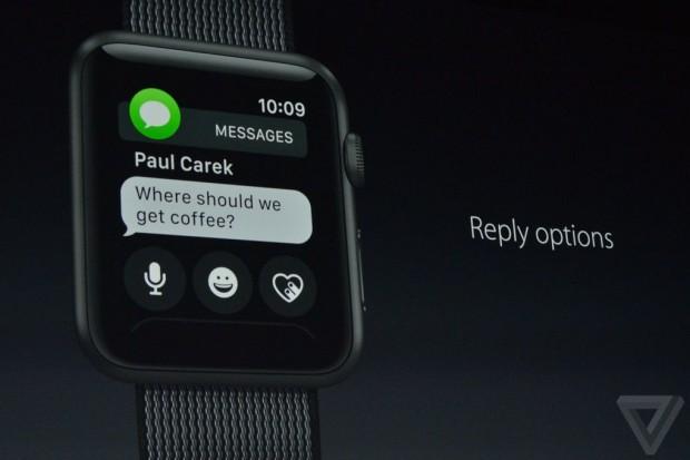watchOS 3 اپل