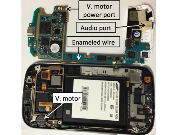موتور ویبره در اسمارت فون ها هم میتواند به ابزار جاسوسی از شما تبدیل شود!
