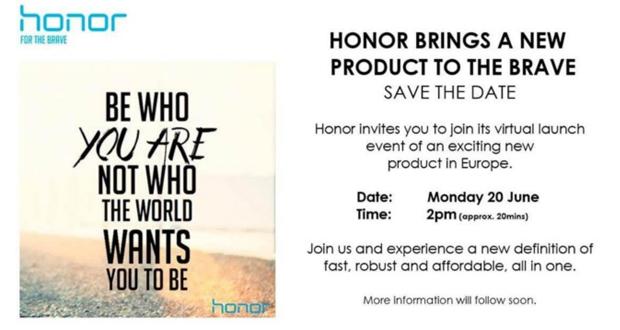 کنفرانس Honor برای رونمایی از محصول جدید در آخرین روز خرداد برگزار میشود
