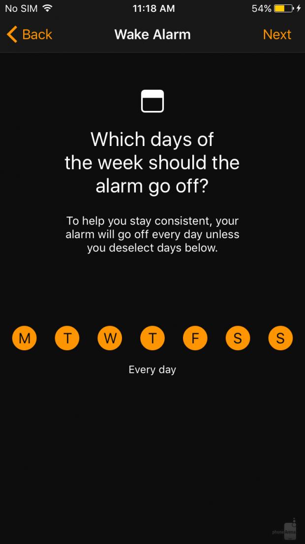 تم تیره و آنالیزور خواب به نرم افزار ساعت در آی او اس ۱۰ اضافه شده است