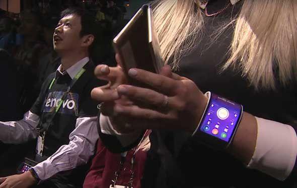 تبلت و گوشی قابل انعطاف لنوو ، دو محصول رویایی در جهان واقعی