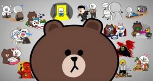 درآمد 270 میلیونی اپلیکیشن لاین از فروش استیکر