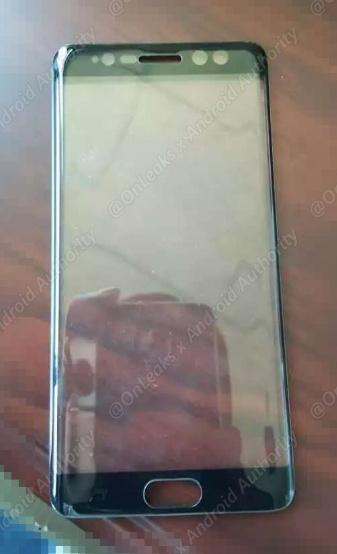تصویر پنل جلویی گلکسی نوت ۷ لو رفت؛ خود را برای دیدن اسکنر عنبیهی چشم آماده کنید!