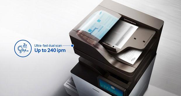 اولین چاپگر با پردازنده چهار هستهای توسط سامسونگ معرفی شد