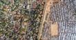 عکاسی با پهپاد اختلاف طبقاتی در آفریقای جنوبی را نشان میدهد
