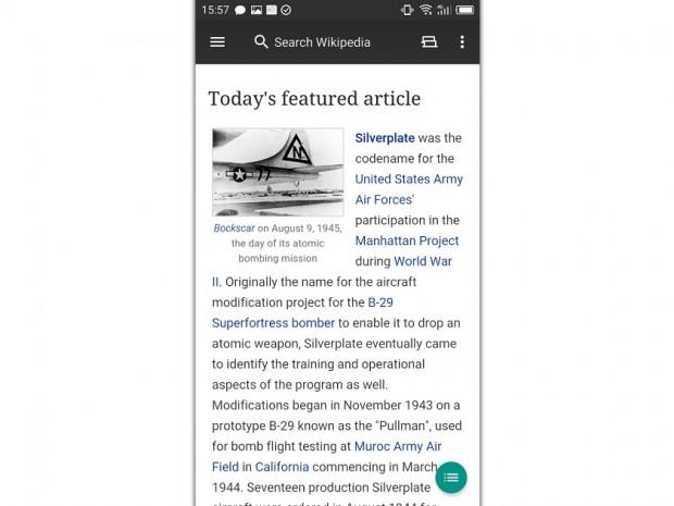 برنامه ویکی پدیا