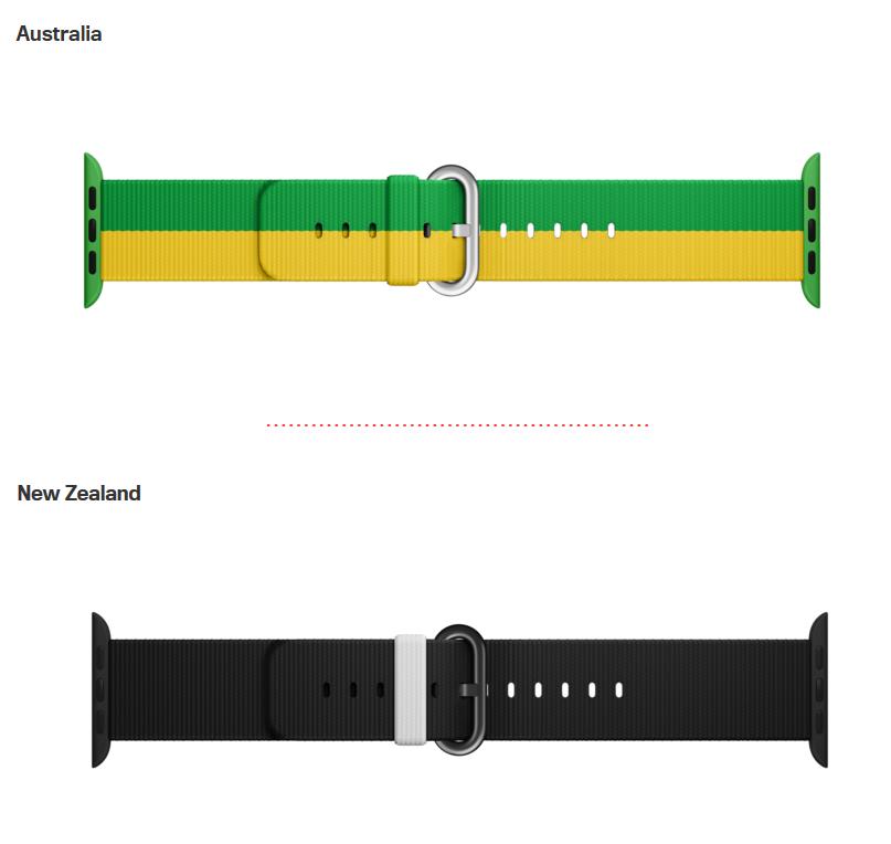 بندهای نسخه المپیک اپل واچ