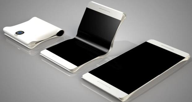 گوشی های هوشمند تاشو