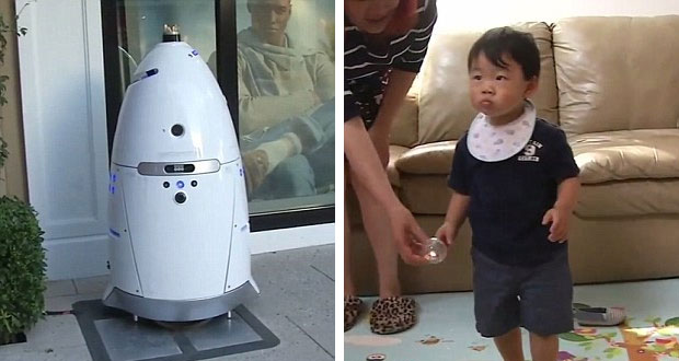 ربات امنیتی