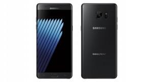 اسکنر عنبیه چشم Galaxy Note 7