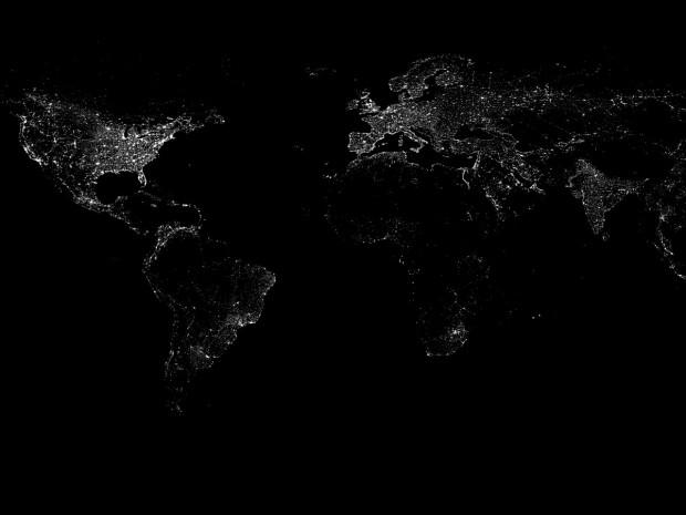 سازههای غول پیکر ساخت بشر را از ایستگاه بینالمللی فضایی